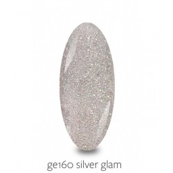 Gellaxy GE160 Silver Glam 5 ml
